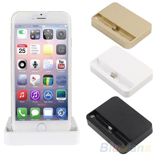 Гаджет  USB Port Charger Station Cradle Data Sync Charging Dock for iPhone 6 / 6 Plus None Телефоны и Телекоммуникации