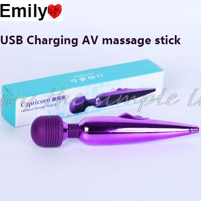 USB Rechargeable woman vibrator,Big AV Massager Vibrator,Adult Sex Product For Woman,Magic Wand Vibrator,sex toys for woman(China (Mainland))
