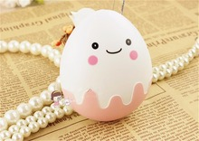 Cute Egg Shape Travel Kit Cartoon Storage Contact Lens Case Box Container Holder(China (Mainland))