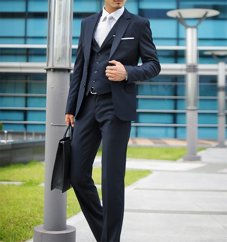 73-Free Shipping New 2015 man suit classic Fashion grooms man suits! Men's Blazer Business Slim Clothing Suit And Pants