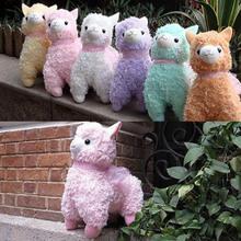 "Adorable 17cm/7"" Arpakasso Alpacasso Alpaca Plush Doll Soft Stuffed Toy 3 Colors(China (Mainland))"