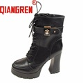 To get coupon of Aliexpress seller $5 from $5.01 - shop: qiangren Official Store in the category Shoes