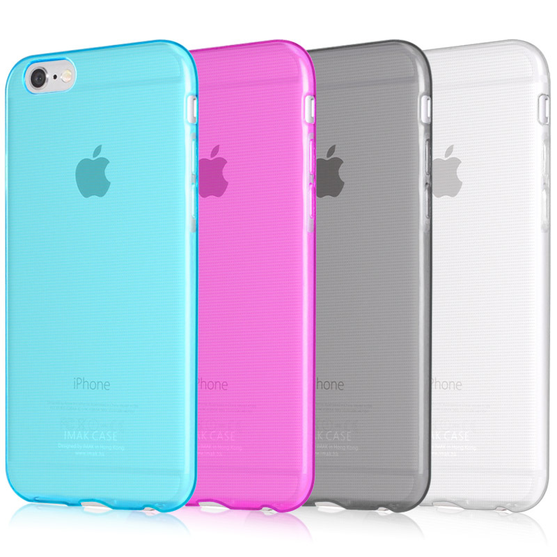 IMAK Ultra Thin Soft TPU Gel Clear Case For Apple iPhone 6 4.7'' Transparent Case Slim Phone silicone Cover For iPhone6(China (Mainland))