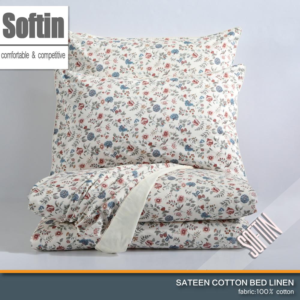 Designer Eygptian Cotton Bohemian Bedding Set 4pcs Saika