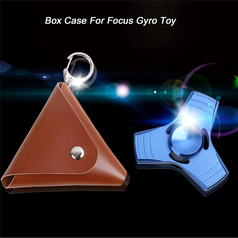 snowshine3 #2522 Box Case For Dustproof Hand Spinner EDC Fidget Spinner Focus Gyro Toy BW free shipping