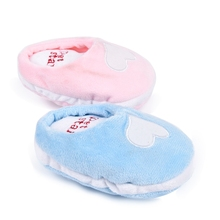 Cute Slippers shape Pet Soft Plush Toys Dog Squeak Toys Pet Cat Chew Toys Puppy Molar Teeth Cleaning Products For Pet