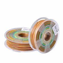 Colour Mixture 3D Printer Consumables PLA 1.75mm 3D Print second generation monofilament Multicolor gradient materials