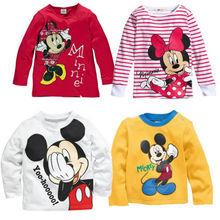 Baby Girls Boys Kids Long Sleeve Blouses Tops Shirt Hoodie(China (Mainland))