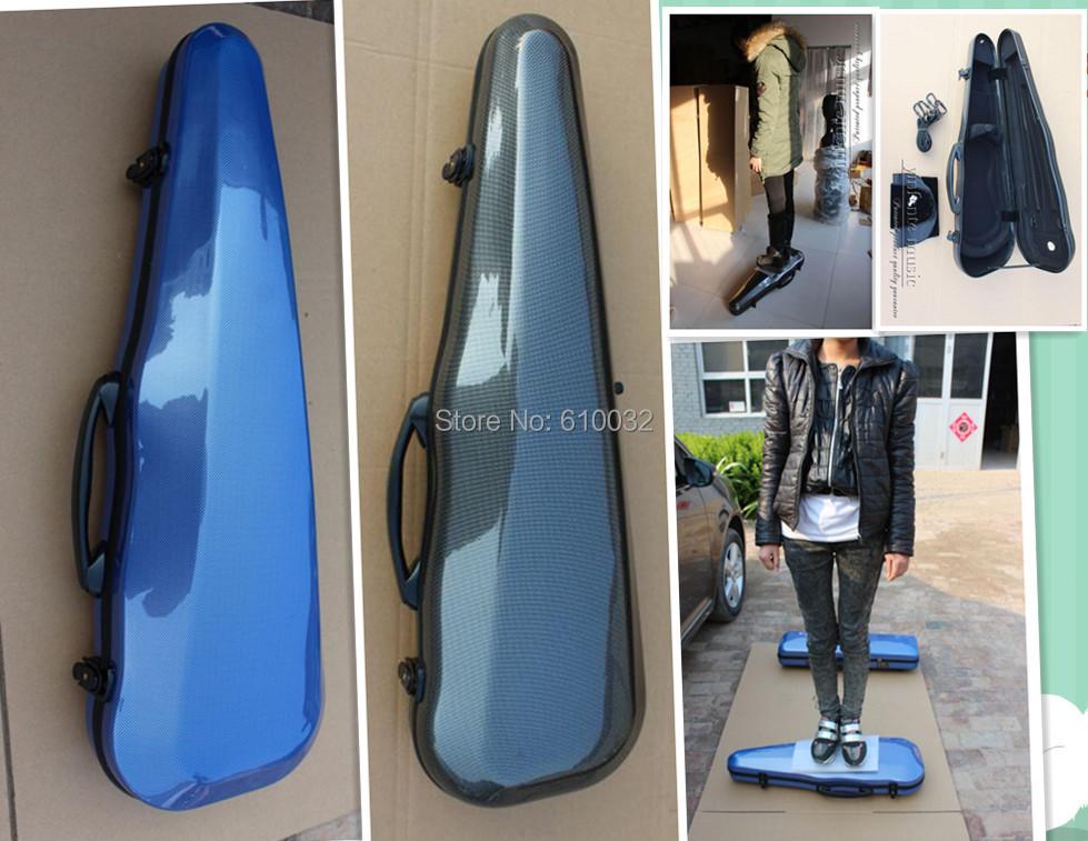 one new Carbon fiber violin case 4/4 size(China (Mainland))