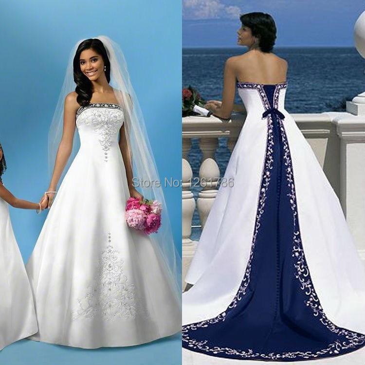 Royal Blue Bridal Dresses Royal Blue Wedding Dresses