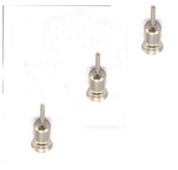 3 x Metal Dustproof plug Sim Card Tray Eject Pin For Huawei Ascend P6 Cellphone Parts New In Stock +Tracking(China (Mainland))