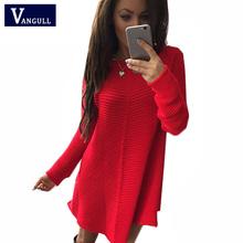 2016 Women Winter Dress Bodycon Vestidos Knitted Sweater Dress Bodycon Dress Vestido Feminino Long Sleeve Fashion Warm Dress(China (Mainland))
