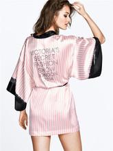 2015 Pink Short Silk Kimono Robe Satin Kimono Robes for Women Silk Dressing Gown Wedding Bridesmaid Spa Bath Robes for Women(China (Mainland))