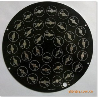 36w  180m  LED PCB,for 36pcs LEDs,  base, Aluminum PCB, LED DIY Printed Circuit Boards, high power 36W PCB