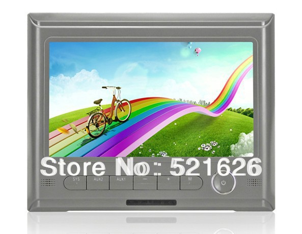 Фотография New!! HD Screen Tablet Car Headrest Video AV Player monitor,IR (3Colors:Beige/Grey/Black)
