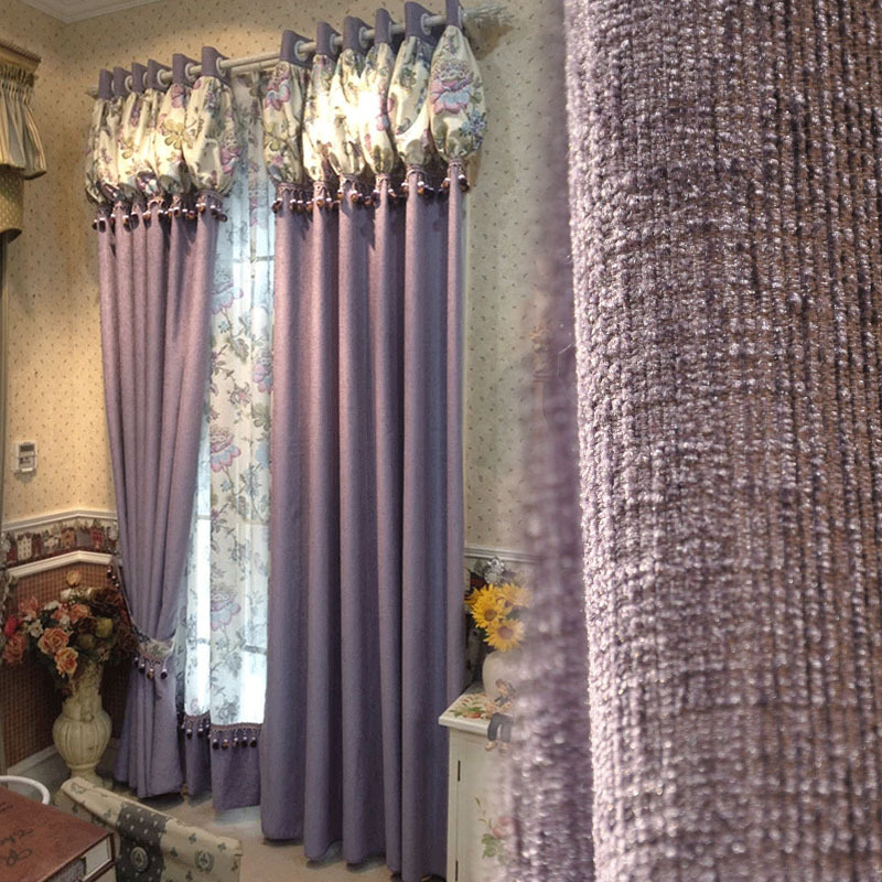 the price of 1 meter solid european high grade custom made curtains