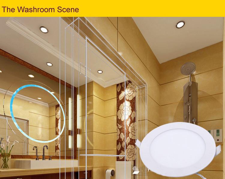 Barok Radiator : Super Thin LED Panel Light Fixtures