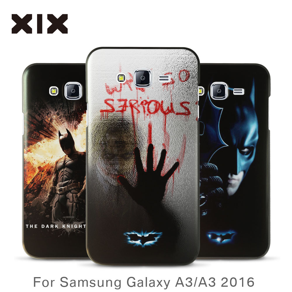 For coque samsung A3 case 2016 new arrivals for galaxy A3 case Batman PC back cover for fundas samsung galaxy A3 case wholesale(China (Mainland))