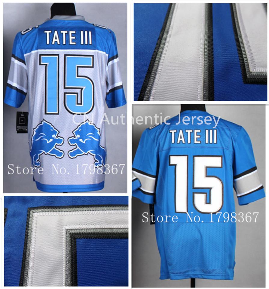 Golden Tate Shirt Stitched#15 Golden Tate Jersey