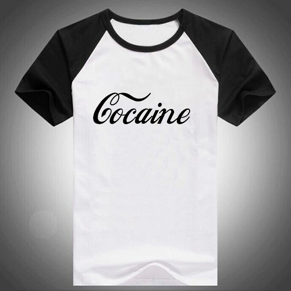 600PX Raglan Short Sleeve T-shirt Co caine 4
