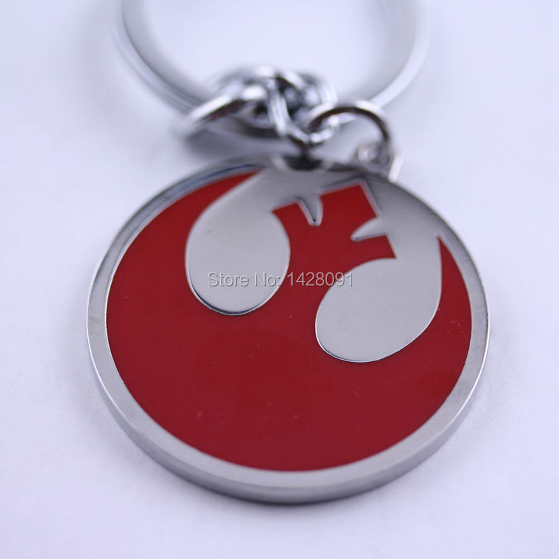 Star Wars Rebel Alliance logo keychain Star Wars Character Keychain new Hot(China (Mainland))