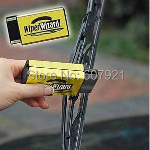 Free Shipping 1pcs/lot Wiper Wizard Auto Wiper Cleaner,Make Old Windshield Wiper Works Like New! IN Retail Package(China (Mainland))