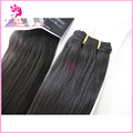 Synthetic Hair Weft Remy Yaki Hair Synthetic Straight Yaki Hair Weave Bundles color black 100g 14inch16inch