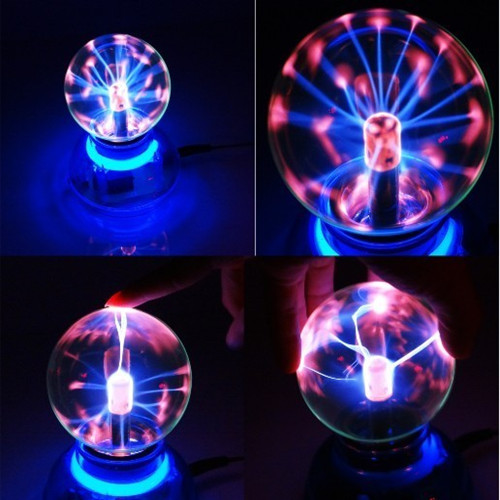 Car Air Freshener Magic Glass Plasma Ball Crystal Neon Sphere Negative Ion Car Interior Light Sound Music Voice Control Hot Sale(China (Mainland))