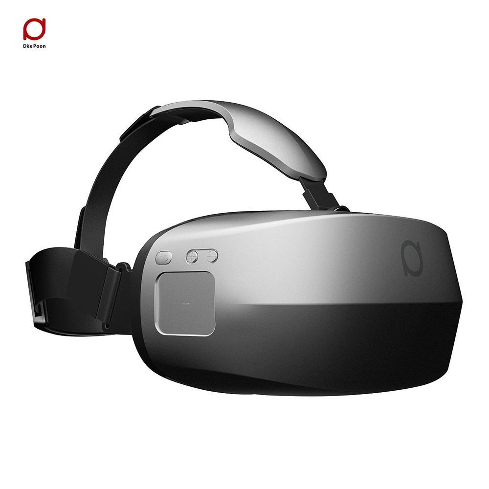 Deepoon M2+ORIGINAL REMOTE 2560x1440 Resolution All in one 3D VR Virtual Reality Headset Bluetooth virtual screen video glasses(China (Mainland))