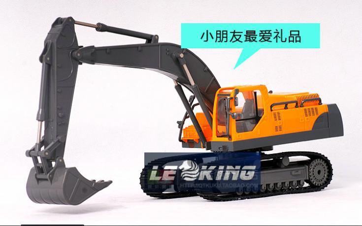 RC Hydraulic excavator construction machinery RC car rc construction car Volvo car remote control car FREE SHIPPING(China (Mainland))
