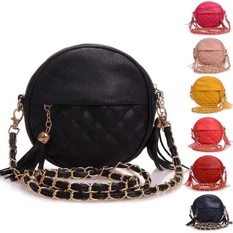 Bolsas Feminina 2015 Designer Crossbody Bag For Women Messenger Bag Ladies Shoulder Bags Mini Tassel Chain Bag Leather Handbags(China (Mainland))
