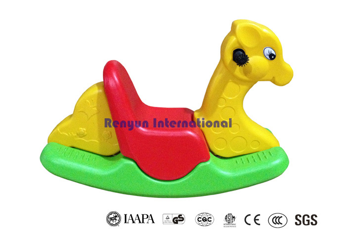 Cheval Bascule Plastique en Plastique Cheval à Bascule