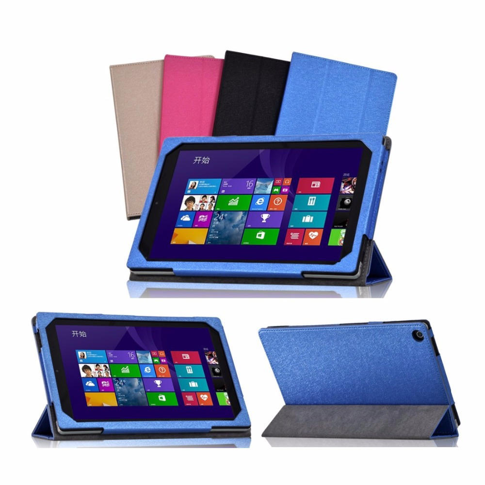 PU Leather Case Stand Cover for 8.9 inch PIPO W6 Tablet + Screen Protector Film(China (Mainland))