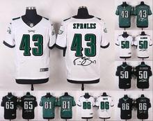 A+++ all stitched ,Philadelphia Eagles signature #43 Darren Sproles #86(China (Mainland))