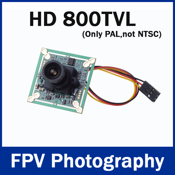 "HD 800TVL 1/3"" SONY CCD 4140 PAL 3.6mm Mini CCD FPV Camera for RC Quadcopter Drone FPV Photography(China (Mainland))"