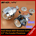 Upgrade Full Metal 2 5 Pro HID Bi xenon Projector Headlight Lens H1 H4 H7 LHD