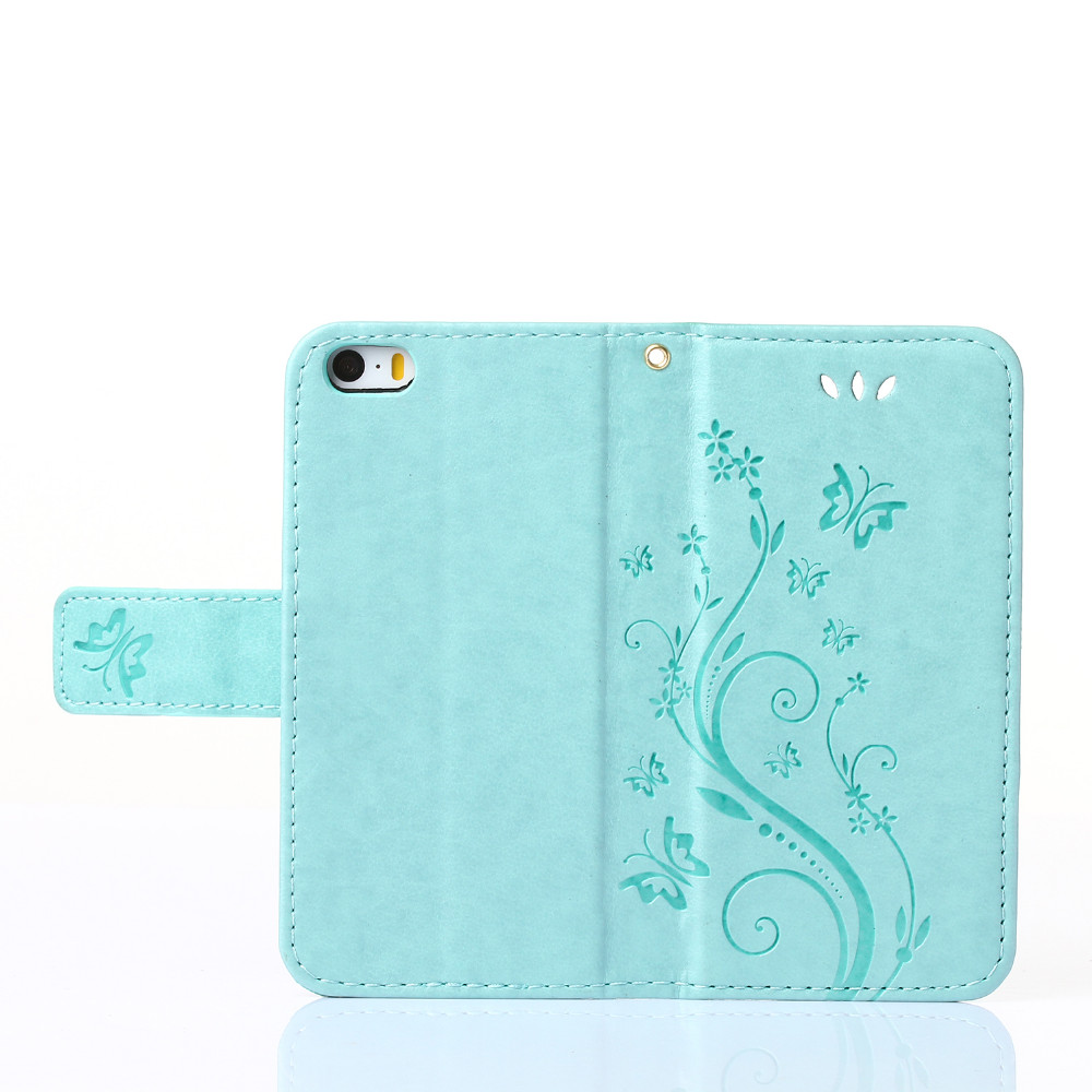 Retro Vintage Design PU Leather Case For iphone 5 5S 5G 6 6 Plus Stand Wallet Card Slot Mobile Phone Cover Capa Funda Case