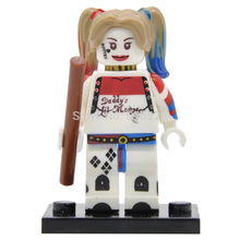 Wholesale DC Harley Quinn Minifigures Building Blocks 20pcs/lot Batman Superheroes Model Figure Toys