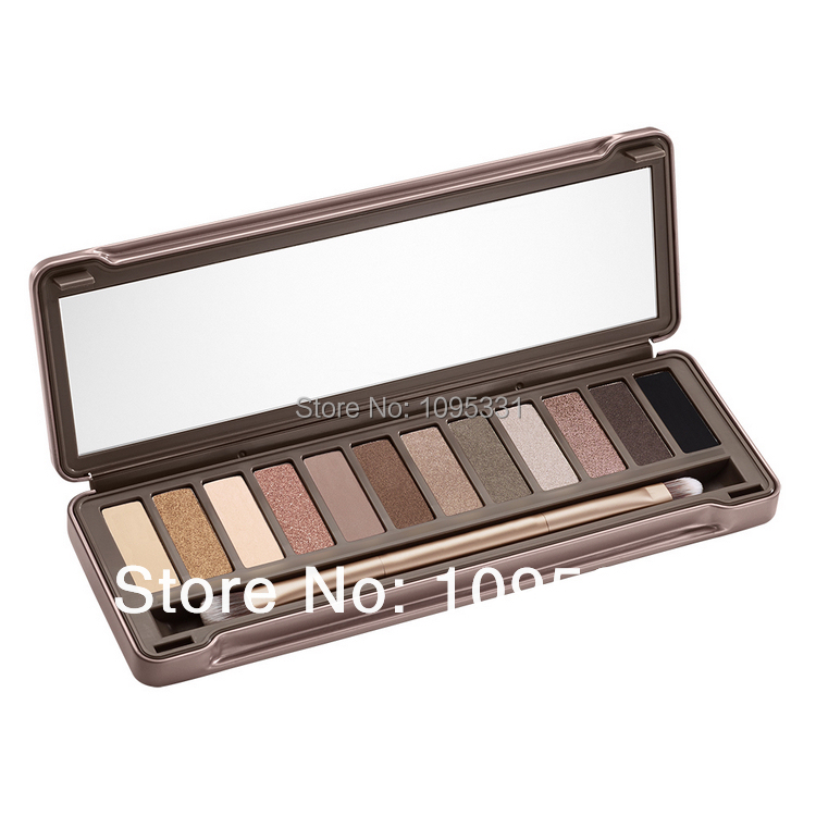 Hot sale 2014 brand new High quality nake makeup eyeshadow palette nk2 12 colors Glitter Eye Shadow nk 2 Cosmetics(China (Mainland))
