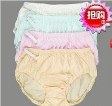 100%cotton women briefs pregnant mother maternity pregnancy panties Adjustable underwear For New Mom 6Pcs/lot mult-colors(China (Mainland))