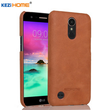 Buy Case LG K10 2017, KEZiHOME Frosted Genuine Leather Hard Back Cover LG LV5 / K10 2017 Phone Protector case for $8.91 in AliExpress store