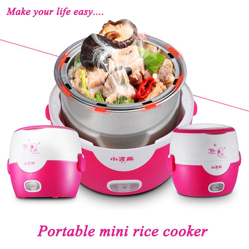 Купить Бытовая техника  Fashion Korean 1.3L Mini Rice Cooker Electric Rice Cooker Electric Small Rice Cooker For Students Free Shipping Portable cooker  None