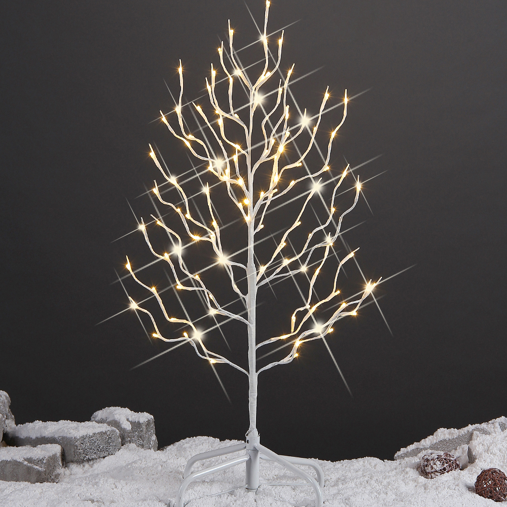 String Lights On Tree Branches : Stock In US 2015 New Led Outdoor Tree Light,White Branch,Warm White Light-in Holiday Lighting ...