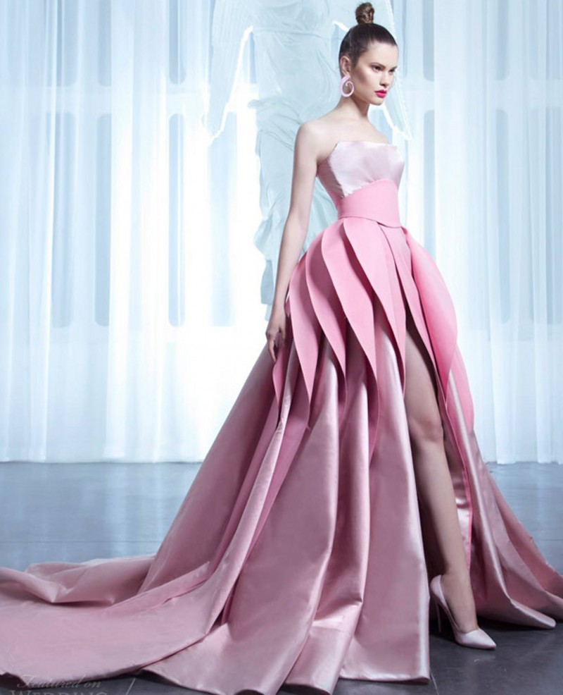 Haute couture wedding dress designers reviews online for Couture clothing