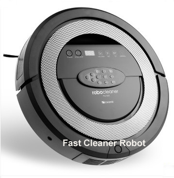 (Free to Russia) 2016 Newest Robot Vacuum Cleaner QQ5 With V-shaped Rolling brush,Sonic Wall,2cs Side Brush,2pcs Rolling Brushes(China (Mainland))