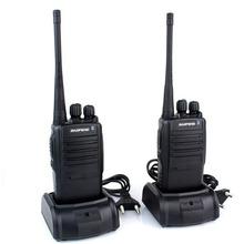 BaoFeng -388A a pair of mini handheld Walkie Talkie UHF 400-470 MHz 5W 16CH Portable walkie talkie cheap radio 2pcs/set