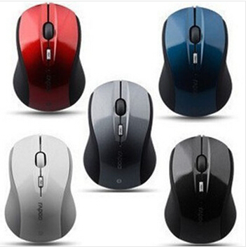 NEW Promotional Rapoo wireless bluetooth mouse 6200 ultra thin usb optical wireless mouse 2.4Ghz PC wireless mouse(China (Mainland))