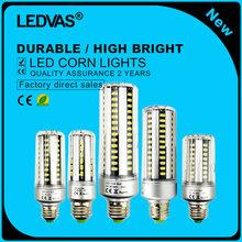 LEDVAS E27 E14 СВЕТОДИОДНЫЕ Лампы 5736SMD СВЕТОДИОДНЫЕ Фонари Кукуруза Светодиодные Лампы 5 Вт 7 Вт 9 Вт 12 Вт 15 Вт 20 Вт 25 Вт Люстра Свечи Освещение AC85-265V(China (Mainland))