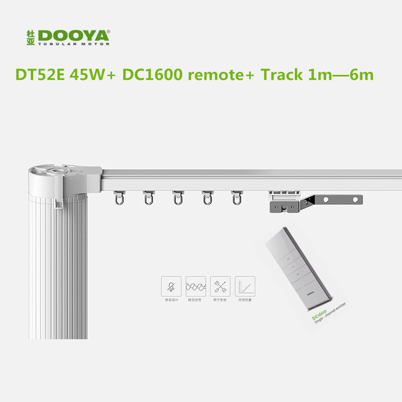 Original Dooya Electric Curtain System Curtain Motor Dt52e