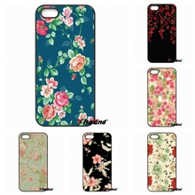 Sony Xperia X XA M2 M4 M5 C3 C4 C5 T2 T3 E4 E5 Z Z1 Z2 Z3 Z5 Compact Kawaii Flower Pattern Wallpaper Print Hard Phone Case - The End Cases Store store